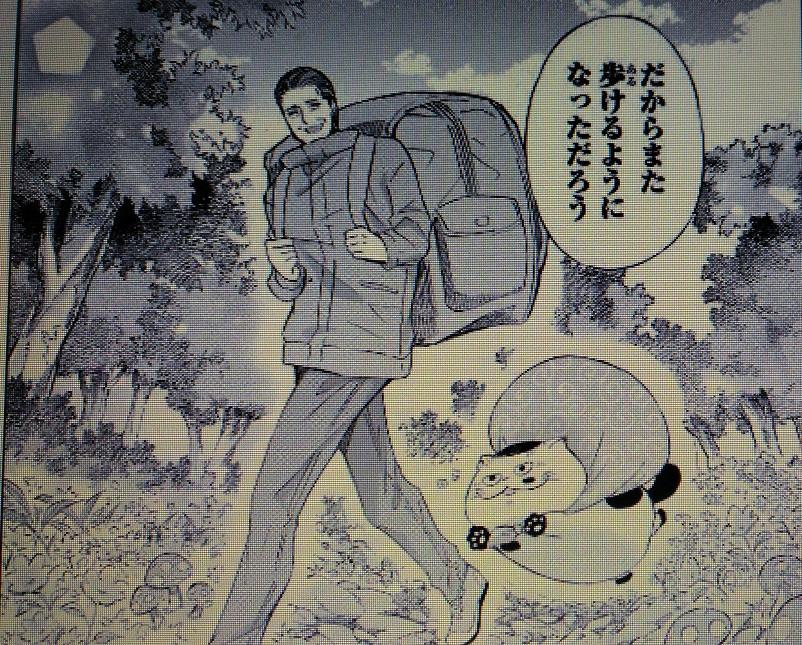 IMG 20190511 094601 - おじさまと猫第【第35話】ふくまるは力もちのネタバレ!!!神田の過去!